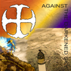 Against the Darkened Sky single cover art - Jagged Rocks on the Perimeter